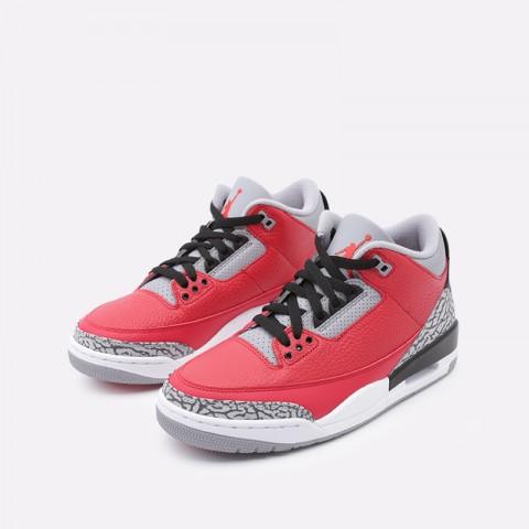 мужские красные  кроссовки jordan 3 retro se CK5692-600 - цена, описание, фото 5