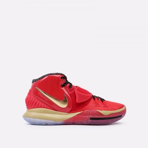 мужские красные, золотые  кроссовки nike kyrie 6 as CD5026-900 - цена, описание, фото 1