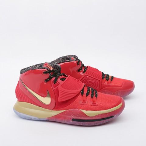 мужские красные, золотые  кроссовки nike kyrie 6 as CD5026-900 - цена, описание, фото 2