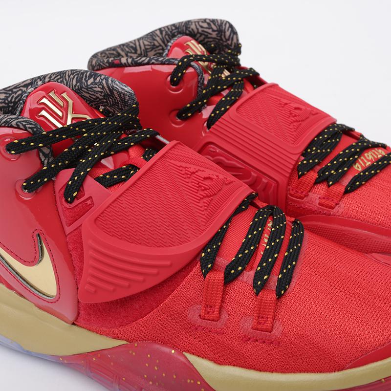 мужские красные, золотые  кроссовки nike kyrie 6 as CD5026-900 - цена, описание, фото 6