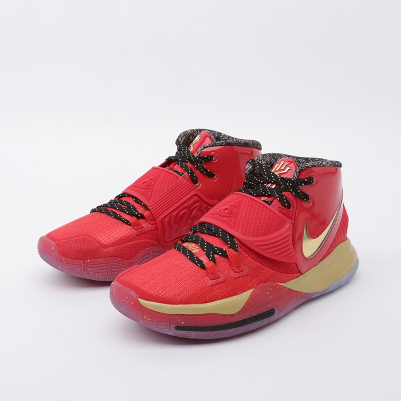 мужские красные, золотые  кроссовки nike kyrie 6 as CD5026-900 - цена, описание, фото 5