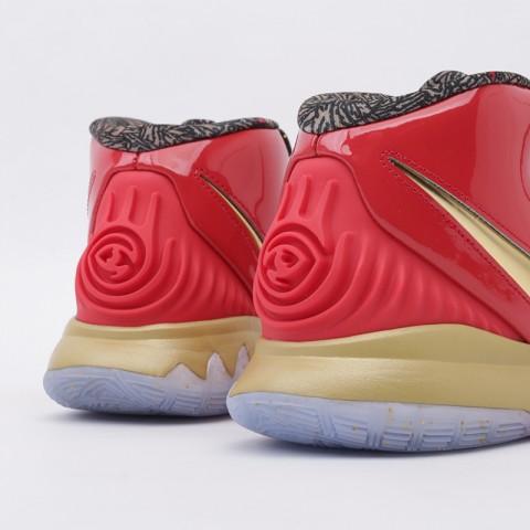 мужские красные, золотые  кроссовки nike kyrie 6 as CD5026-900 - цена, описание, фото 4
