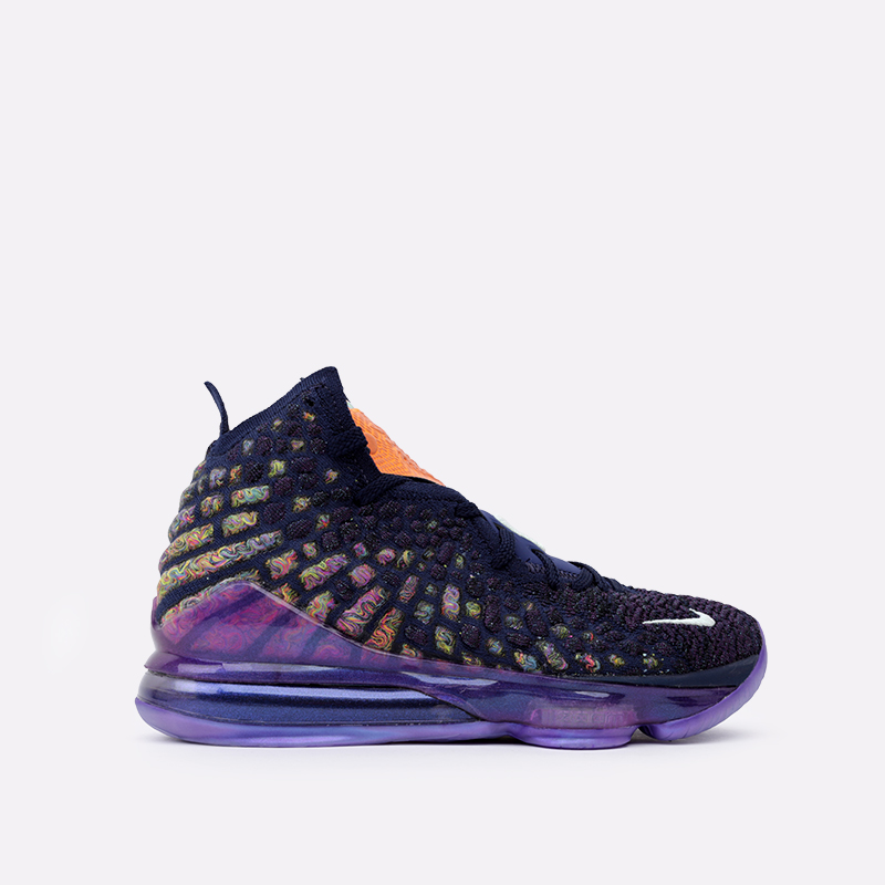 мужские фиолетовые  кроссовки nike lebron xvii as CD5050-400 - цена, описание, фото 1