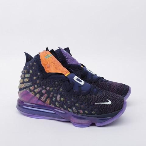 мужские фиолетовые  кроссовки nike lebron xvii as CD5050-400 - цена, описание, фото 2