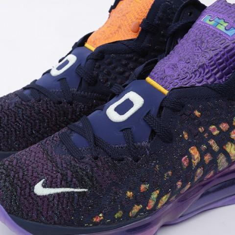 мужские фиолетовые  кроссовки nike lebron xvii as CD5050-400 - цена, описание, фото 6