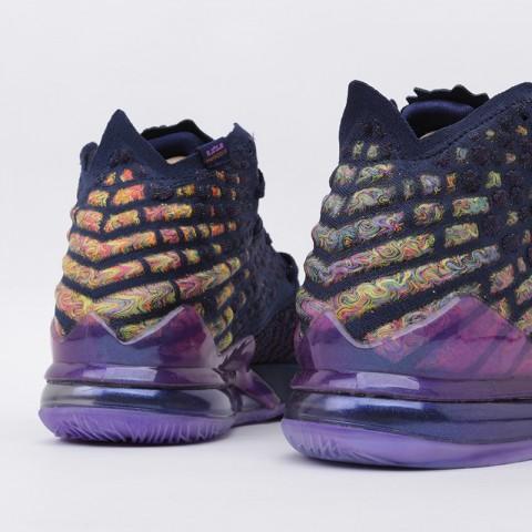 мужские фиолетовые  кроссовки nike lebron xvii as CD5050-400 - цена, описание, фото 4
