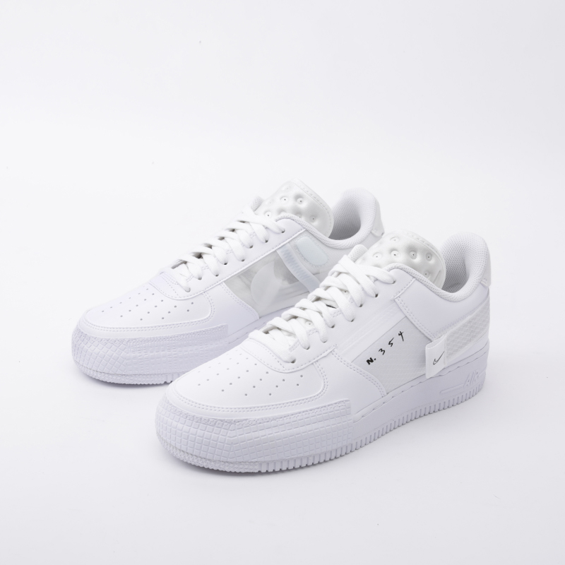 мужские белые  кроссовки nike air force 1 type CQ2344-101 - цена, описание, фото 6