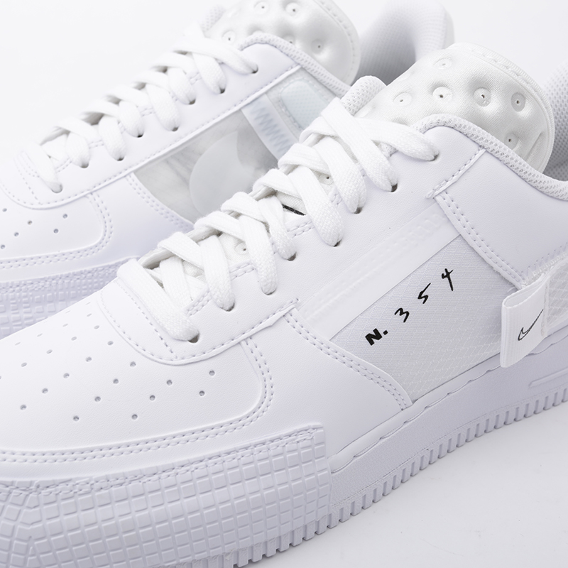 мужские белые  кроссовки nike air force 1 type CQ2344-101 - цена, описание, фото 5