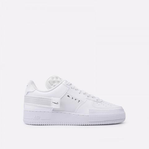 мужские белые  кроссовки nike air force 1 type CQ2344-101 - цена, описание, фото 1
