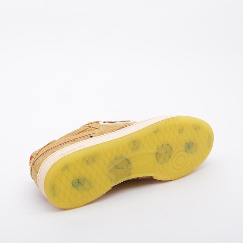 коричневые  кроссовки reebok club c revenge mu FW4632 - цена, описание, фото 4