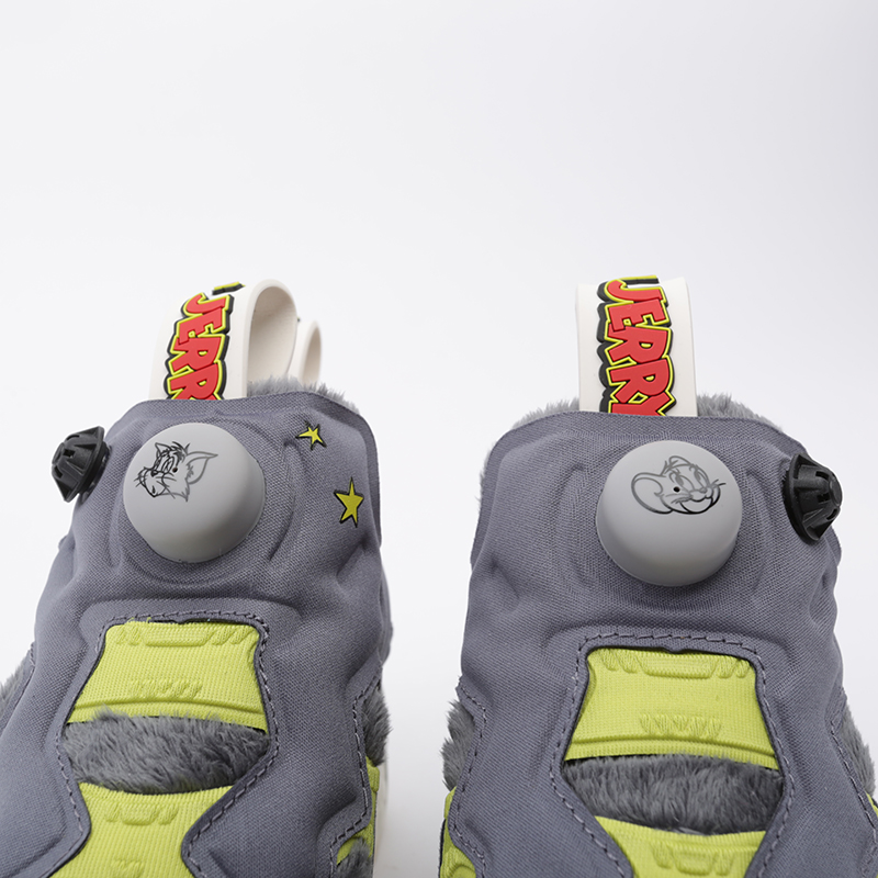 серые  кроссовки reebok instapump fury og mu FW4656 - цена, описание, фото 5