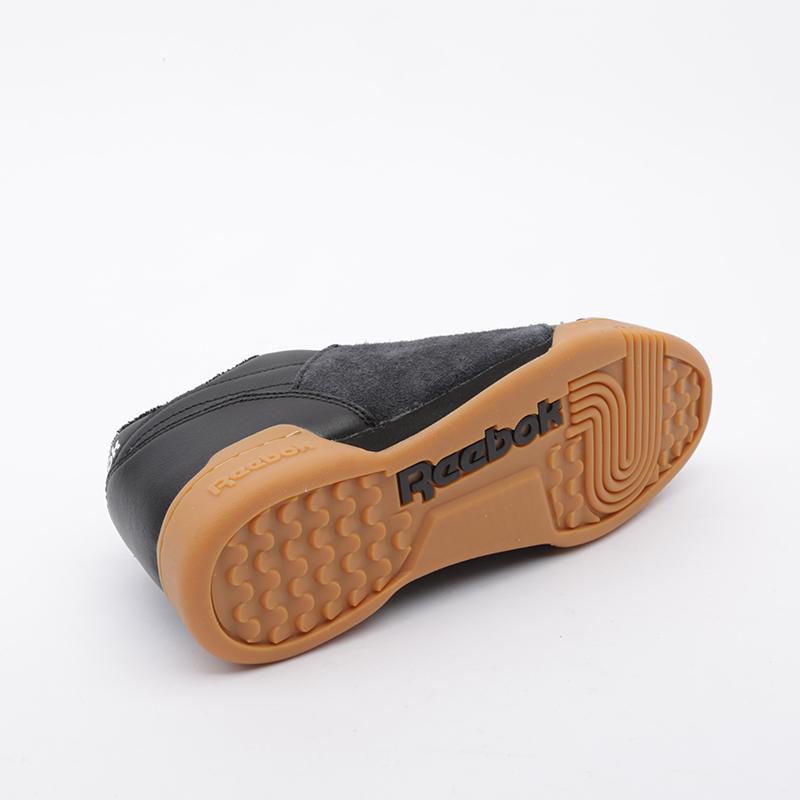 чёрные  кроссовки reebok workout plus nepenthes FW8461 - цена, описание, фото 3