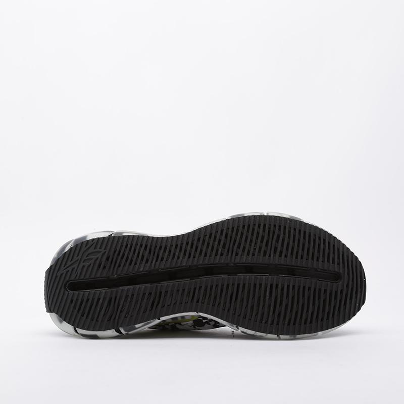 чёрные  кроссовки reebok zig kinetica FW9463 - цена, описание, фото 3