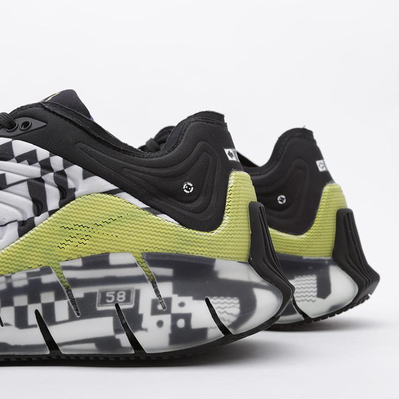 чёрные  кроссовки reebok zig kinetica FW9463 - цена, описание, фото 5