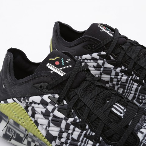 чёрные  кроссовки reebok zig kinetica FW9463 - цена, описание, фото 7