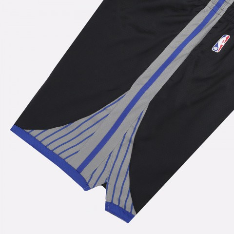 мужские черные  шорты nike warriors city edition nba swingman shorts BV5869-010 - цена, описание, фото 3