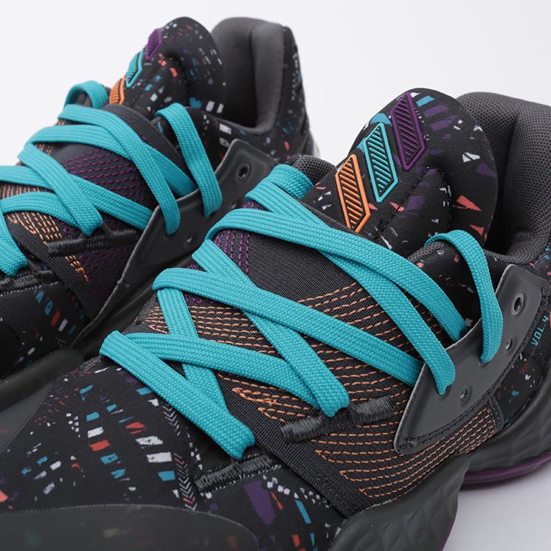 мужские чёрные  кроссовки adidas harden vol.4 EF9924 - цена, описание, фото 6
