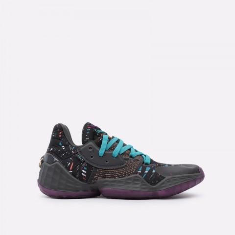 мужские чёрные  кроссовки adidas harden vol.4 EF9924 - цена, описание, фото 1
