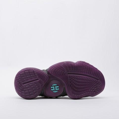 мужские чёрные  кроссовки adidas harden vol.4 EF9924 - цена, описание, фото 3