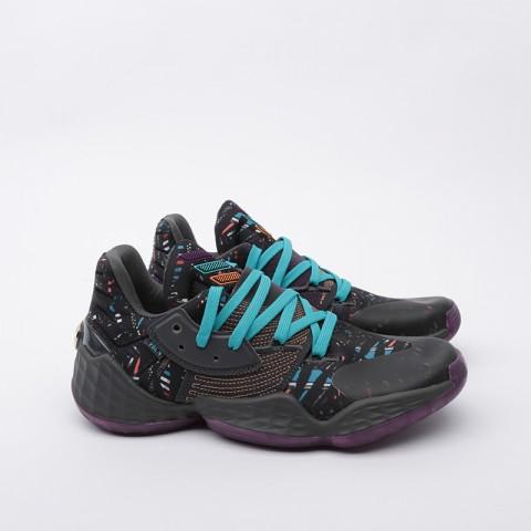 мужские чёрные  кроссовки adidas harden vol.4 EF9924 - цена, описание, фото 2
