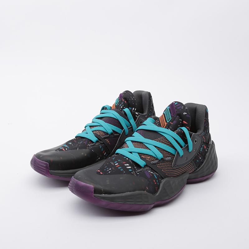 мужские чёрные  кроссовки adidas harden vol.4 EF9924 - цена, описание, фото 5