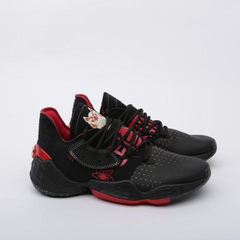 мужские чёрные  кроссовки adidas harden vol.4 EF9926 - цена, описание, фото 2