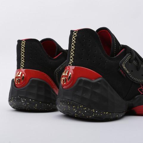 мужские чёрные  кроссовки adidas harden vol.4 EF9926 - цена, описание, фото 4