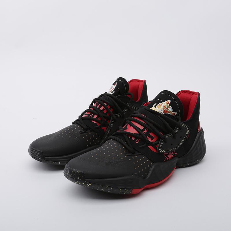 мужские чёрные  кроссовки adidas harden vol.4 EF9926 - цена, описание, фото 5