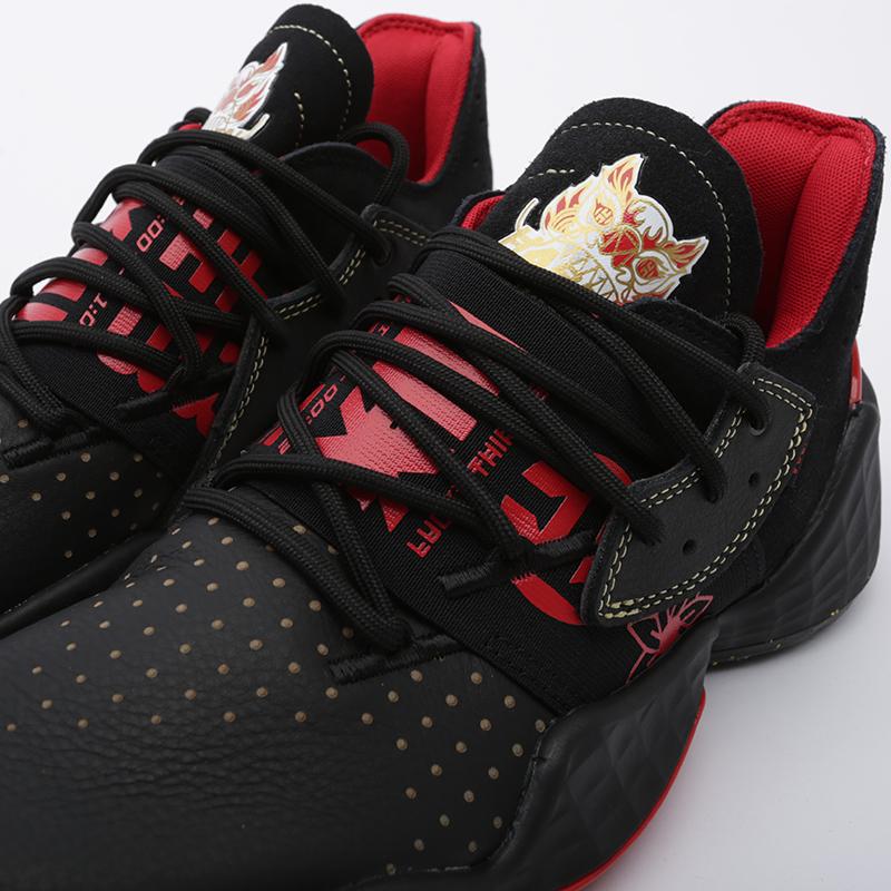 мужские чёрные  кроссовки adidas harden vol.4 EF9926 - цена, описание, фото 6