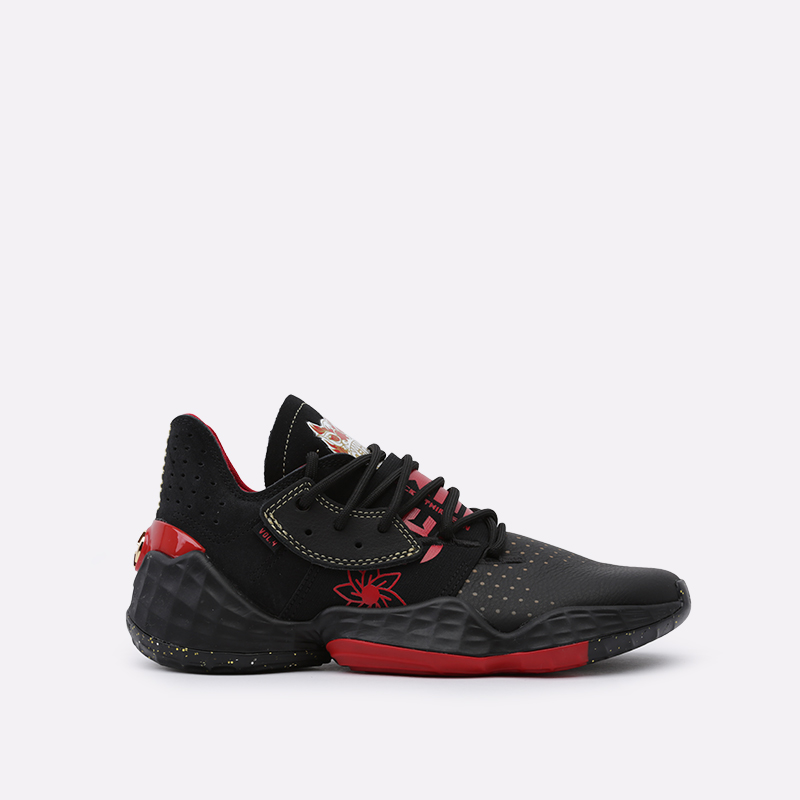 мужские чёрные  кроссовки adidas harden vol.4 EF9926 - цена, описание, фото 1