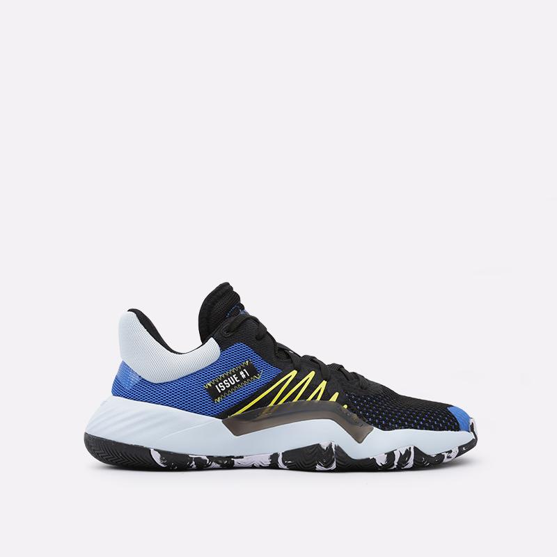 мужские чёрные  кроссовки adidas d.o.n. issue 1 EF9908 - цена, описание, фото 1