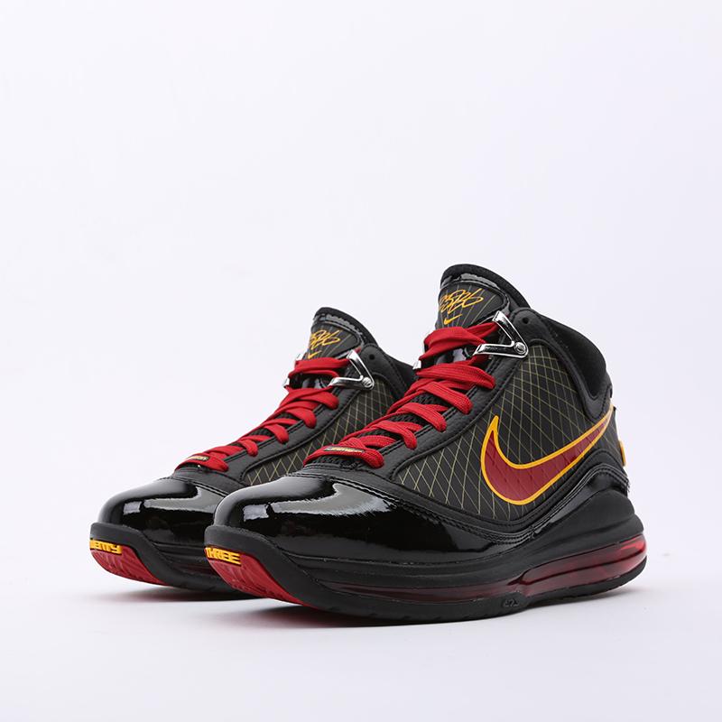 чёрные  кроссовки nike lebron vii qs CU5646-001 - цена, описание, фото 5