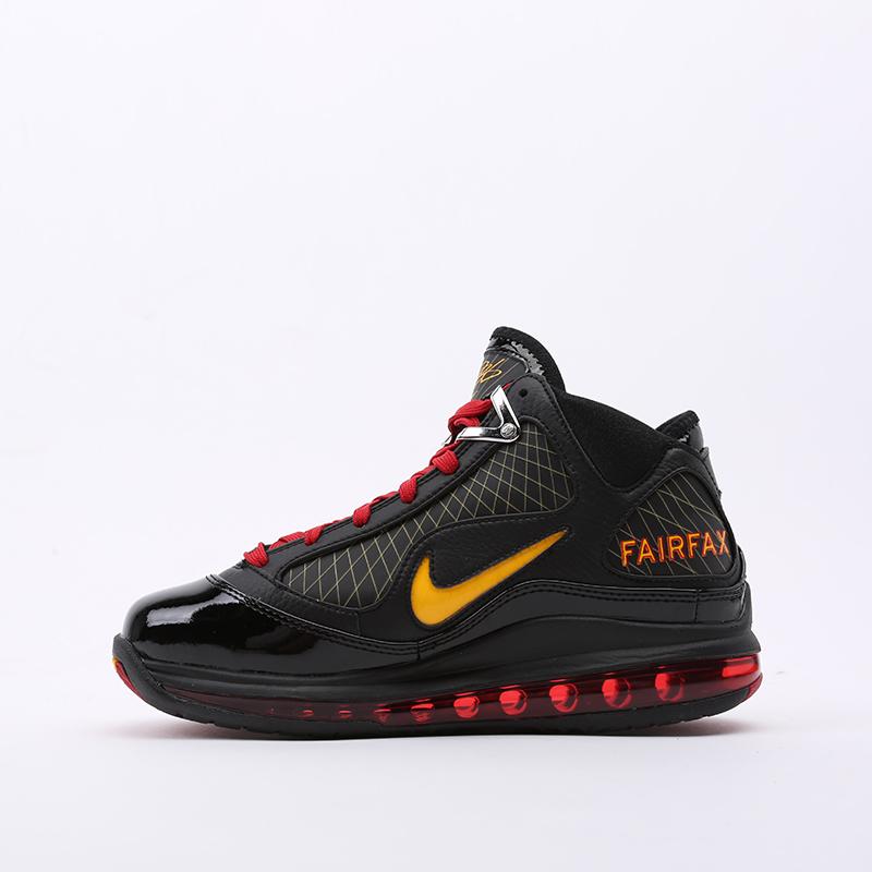 чёрные  кроссовки nike lebron vii qs CU5646-001 - цена, описание, фото 4