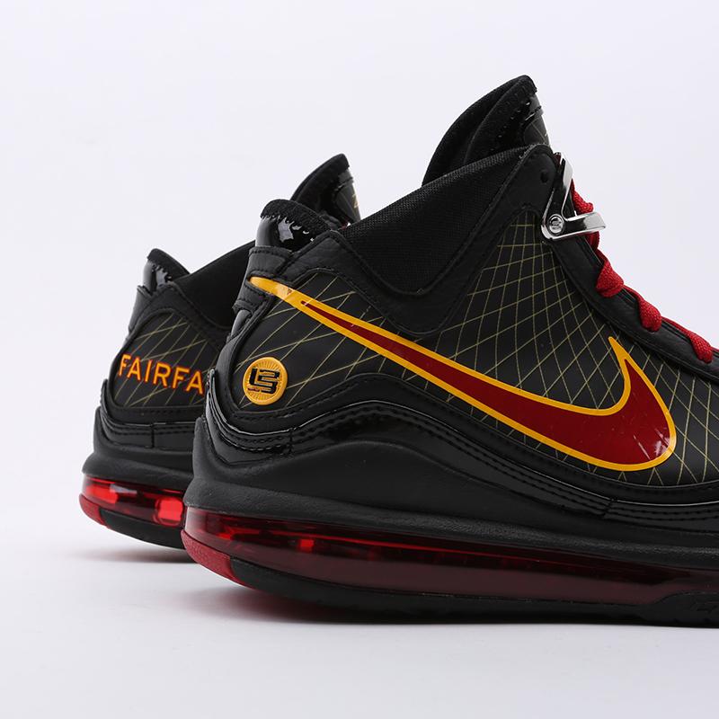 чёрные  кроссовки nike lebron vii qs CU5646-001 - цена, описание, фото 3