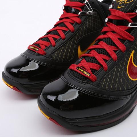 чёрные  кроссовки nike lebron vii qs CU5646-001 - цена, описание, фото 7