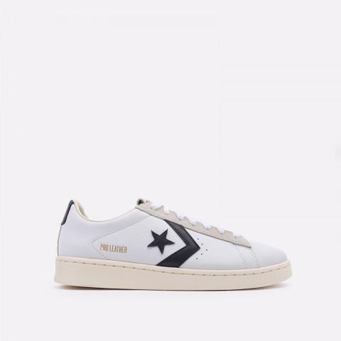 белые  кеды converse pro leather og ox 167969 - цена, описание, фото 1