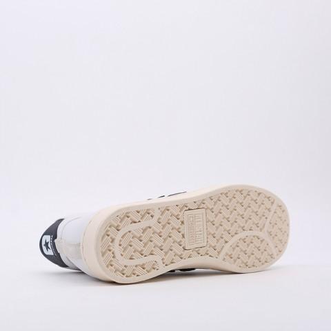 белые  кеды converse pro leather og mid 167968 - цена, описание, фото 2