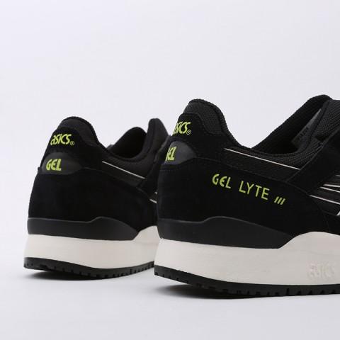мужские чёрные  кроссовки asics gel-lyte iii og 1191A298-001 - цена, описание, фото 4