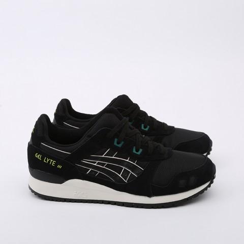 мужские чёрные  кроссовки asics gel-lyte iii og 1191A298-001 - цена, описание, фото 3