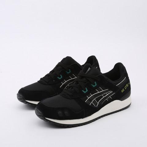 мужские чёрные  кроссовки asics gel-lyte iii og 1191A298-001 - цена, описание, фото 5