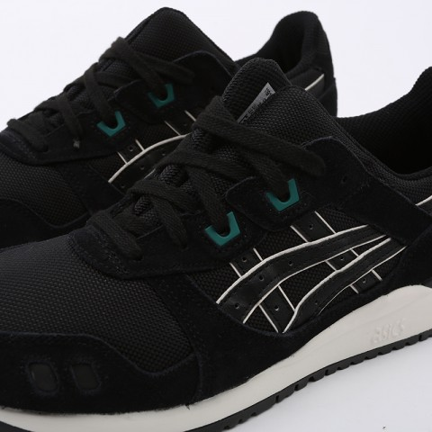 мужские чёрные  кроссовки asics gel-lyte iii og 1191A298-001 - цена, описание, фото 6