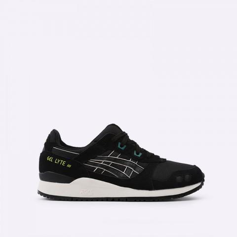 мужские чёрные  кроссовки asics gel-lyte iii og 1191A298-001 - цена, описание, фото 1