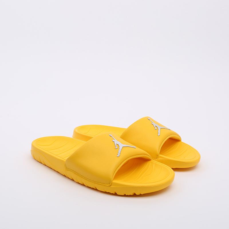 мужские жёлтые  сланцы jordan break slide AR6374-701 - цена, описание, фото 2