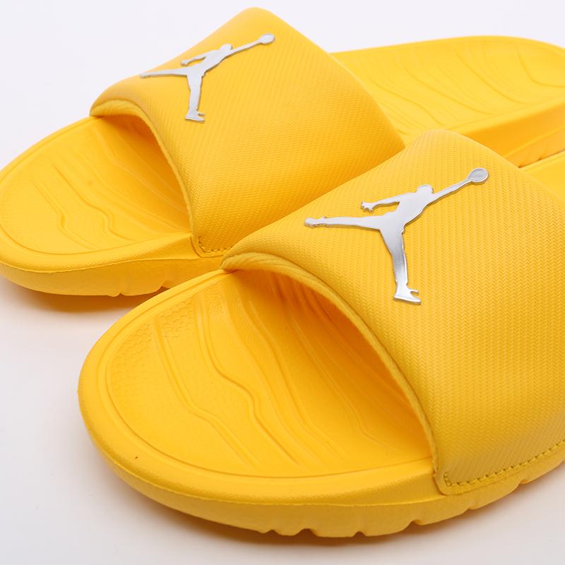мужские жёлтые  сланцы jordan break slide AR6374-701 - цена, описание, фото 5