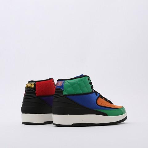 женские разноцветные  кроссовки jordan wmns 2 retro CT6244-600 - цена, описание, фото 3