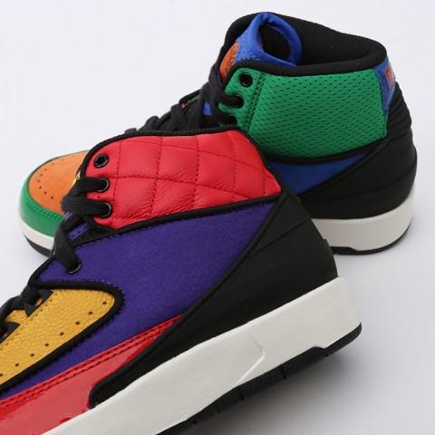 женские разноцветные  кроссовки jordan wmns 2 retro CT6244-600 - цена, описание, фото 6