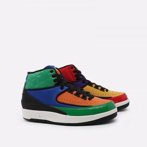 женские разноцветные  кроссовки jordan wmns 2 retro CT6244-600 - цена, описание, фото 1