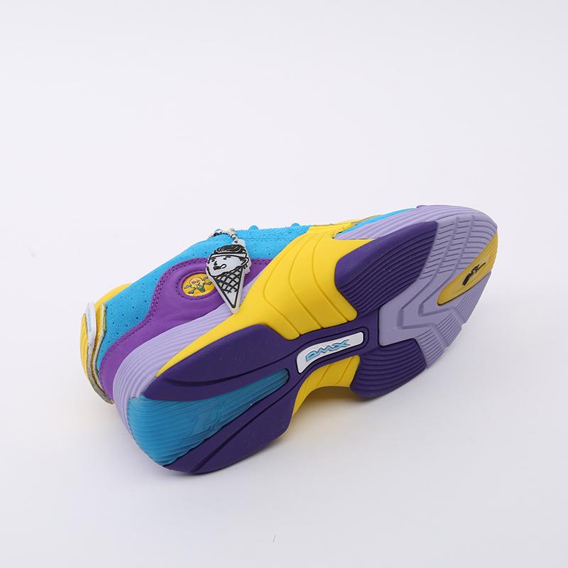 разноцветные  кроссовки reebok answer v mu FW7506 - цена, описание, фото 3