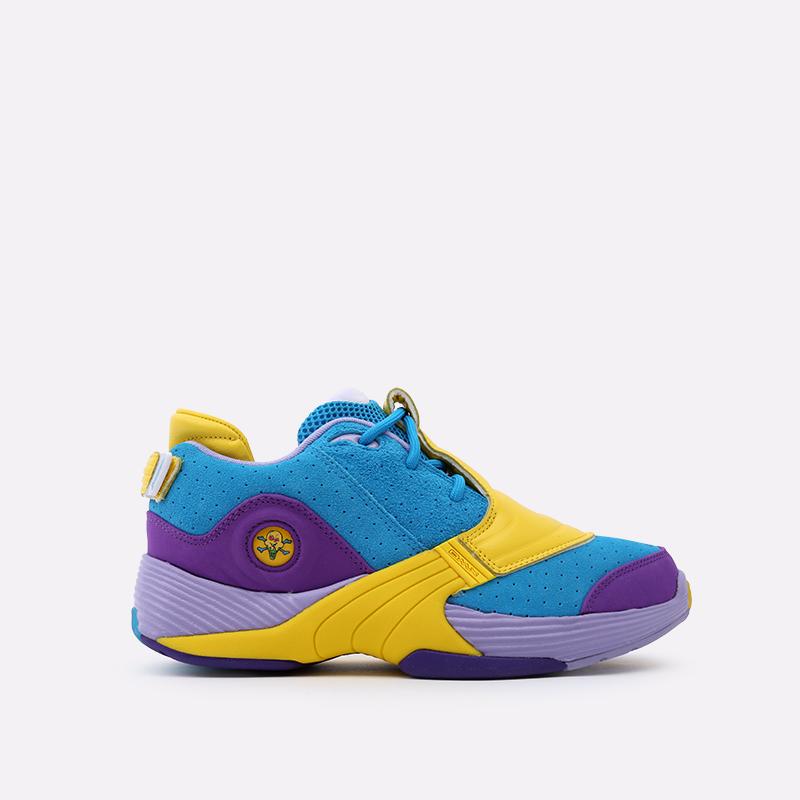 разноцветные  кроссовки reebok answer v mu FW7506 - цена, описание, фото 1