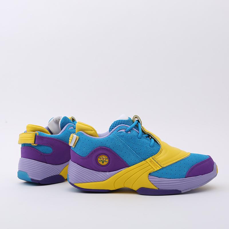 разноцветные  кроссовки reebok answer v mu FW7506 - цена, описание, фото 2